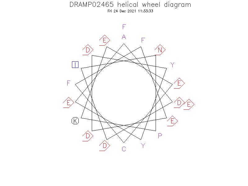 DRAMP02465 helical wheel diagram