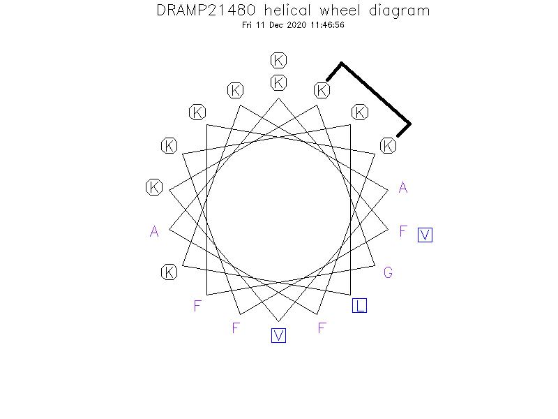 DRAMP21480 helical wheel diagram